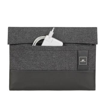 "купить 13.3"" MacBook Pro and Ultrabook sleeve, RIVACASE 8803, Black Melange в Кишинёве"