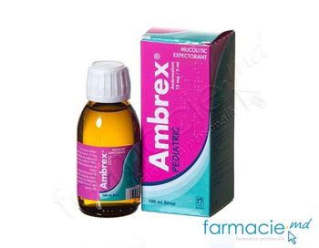 купить Ambrex® Pediatric sirop 15 mg/5 ml 100 ml N1 в Кишинёве