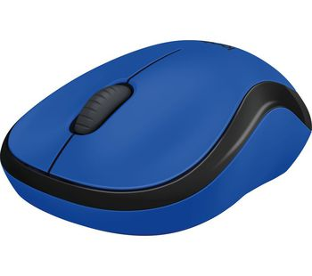 купить Logitech Wireless Mouse M220 Blue в Кишинёве