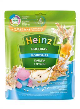 купить Каша Heinz Омега3 рисовая с молоком и грушей, с 4месяцев, 200г в Кишинёве