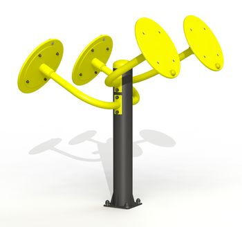 купить Тренажер мышц плечевого пояса независимый PTP 531 в Кишинёве