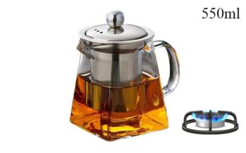 Чайник стеклянный Youte 550ml