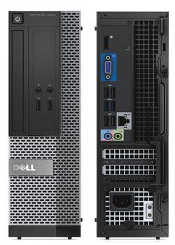 купить DELL 3020 SFF i5-4670 (Quad Core 3,4 up to 3,8Ghz)RAM 8GB, 128GB SSD , DVD+WIN.10 HOME в Кишинёве
