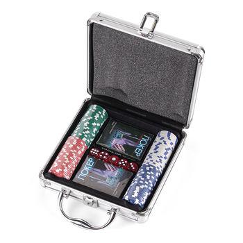 """Настольная игра """"Покер"""" 21x21x7 см (1264)"""