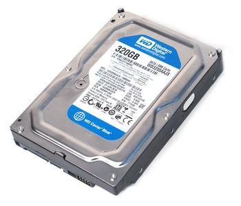 320GB-SATA- 8MB Western Digital Blue