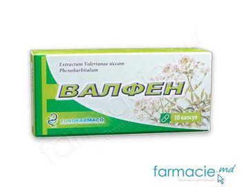 купить Валфен капс. N30(Eurofarmaco)(экстраст валерианы+фенобарбетал) в Кишинёве