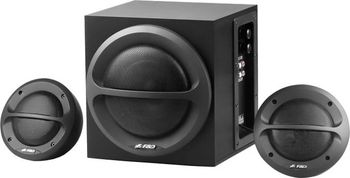 Active Speakers F&D A110, 2x5W, 8W 30-20kHz, Black