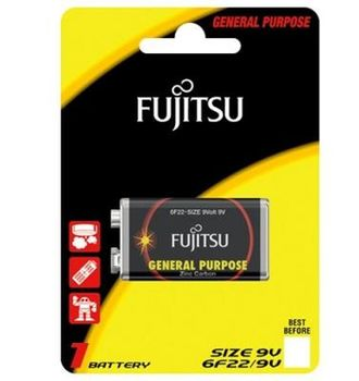 Fujitsu baterii  Zinc Carbon 9V (blister)