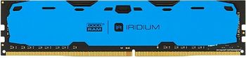 8GB DDR4-2400  GOODRAM IRDM, PC19200, CL15, 1.2V, Aluminum BLUE heatsink