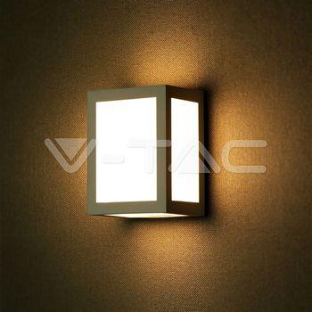 купить 8338 LED Светильник 12W 4000K IP65 серый в Кишинёве