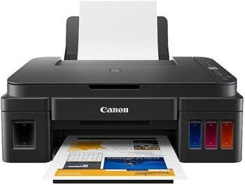 MFD Canon Pixma G2411 + Gift Kit III (GI-490BK + PP201)