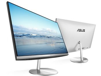 "купить Asus Zen AIO ZN242GDK 23.8"" Silver(Core i5-8300H 16GB 1TB 128GB SSD GTX1050 Win10) в Кишинёве"