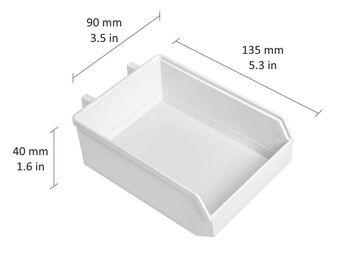 cumpără WORKSHOP Minibox 90x135x40 mm, alb în Chișinău