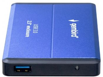 "Внешний корпус 2,5 ""SATA HDD (USB 3.0), синий, Gembird"" EE2-U3S-2-B """