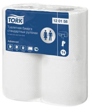 Tork туалетная бумага в стандартных рулонах (T4), 2cл, 4шт x 23m