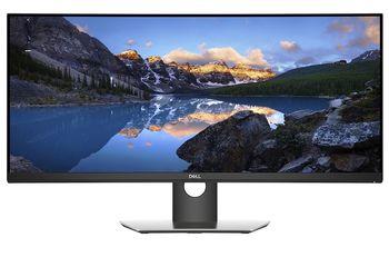 """34.0"""" DELL IPS CURVED LED P3418HW UWFHD Black (8ms, 21:9, 300M:1, 300cd, 2560 x 1080, 178°/172, 99% sRGB, DisplayPort, Mini DisplayPort, HDMI, 6xUSB 3.0, Height Adjustment,  Audio Line out, VESA)"""
