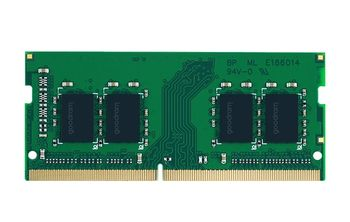 8GB DDR4-2400 SODIMM  GOODRAM, PC19200, CL17, Single Rank, 1024x8, 1.2V