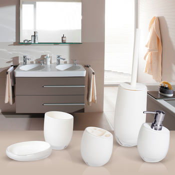 купить Гарнитур для туалета REPOSE WHITE акрил 12233 в Кишинёве