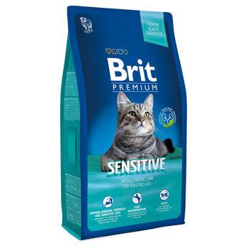 купить Brit Premium Cat Sensitive (ГИПОАЛЛЕРГЕННЫЙ КОРМ ПРЕМИУМ-КЛАССА ДЛЯ КОШЕК С ЧУВСТВИТЕЛЬНЫМ ПИЩЕВАРЕНИЕМ) в Кишинёве