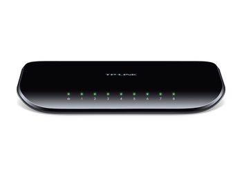 "8-port 10/100/1000Mbps Switch TP-LINK ""TL-SG1008D"""