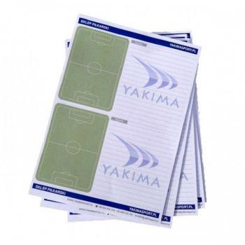 Блокнот для тренера по футболу Yakimasport 100037