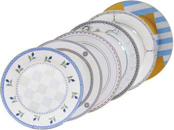 Тарелка керамическая 19cm, с рисунком
