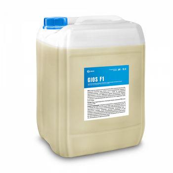 Gios F1 - Щелочное пенное моющее средство с активным хлором 19 л