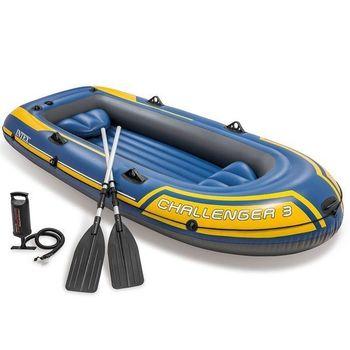 Надувная Лодка трехместная CHALLENGER 3 (295x137x43 cm)
