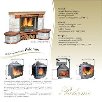 Каминная облицовка - Jabo Marmi PALERMO