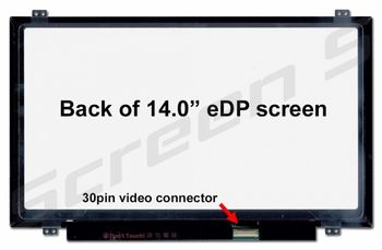 "Display 14.0"" LED IPS Slim 30 pins Full HD (1920x1080) Brackets Up-Down Matte N140HCA-EAB Innolux"