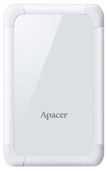 "купить 2.0TB (USB3.1) 2.5"" Apacer AC532 Shockproof Portable Hard Drive, White (AP2TBAC532W-1) в Кишинёве"