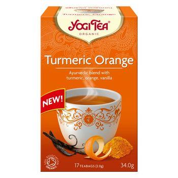 Bio чай с куркумой и апельсином Yogi Tea