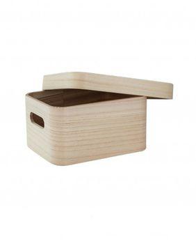 Ящик с крышкой 21 см