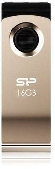 "FlashDrive 16Gb Silicon Power ""Touch 825"", USB2.0, Champagne"