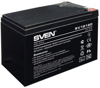 {u'ru': u'Battery SVEN SV12120 12V /12AH', u'ro': u'Battery SVEN SV12120 12V /12AH'}