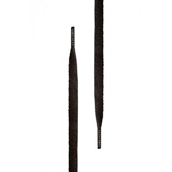 cumpără Шнурки White Flat black 120 cm în Chișinău