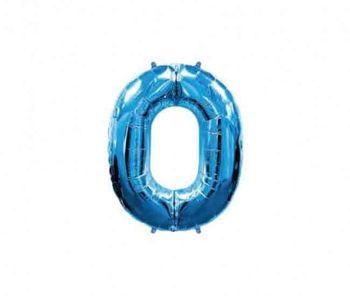 Цифра 0 Синий 40 / 102 см
