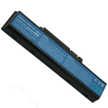 Battery Acer Aspire 5738 5740 2930 4220 4230 4235 4240 4310 4315 4320 4330 4332 4336 4520 4530 4535 4540 4710 4715 4720 4730 4736 4740 4920 4925 4930 4935 4937 5235 5236 5241 5300 5332 5335 5338  AS07A31 AS07A42 AS07A41 11.1V 5200mAh Black