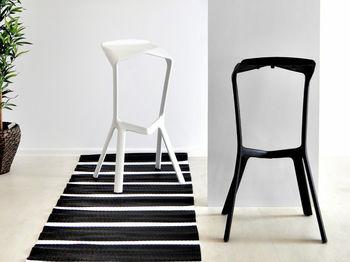 купить Пластиковый стул, 460x420x820 мм, белый в Кишинёве