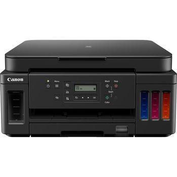 MFD Canon Pixma G6040, Color Printer/Scanner/Copier/Wi-Fi, A4, Print 4800x1200dpi_2pl, Scan 1200x2400dpi, ESAT 13/6.8 ipm, LCD display_6.2cm,USB 2.0, 4 ink tanks: GI-4PGBK,GI-40C,GI-40M,GI-40Y
