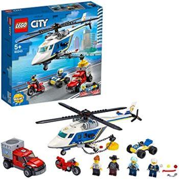 LEGO City Погоня на полицейском вертолёте, арт. 60243