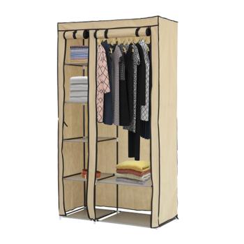 cumpără Dulap pentru haine, 5 poliţe şi cuier 980х460х1750 mm în Chișinău
