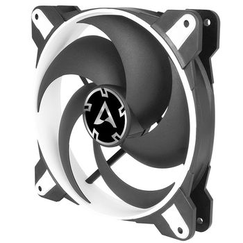 Case/CPU FAN Arctic BioniX P120 White, Pressure-optimised Gaming Fan with PWM PST, 120x120x27 mm, 4-Pin-Connector + 4-Pin-Socket, 200-2100rpm, Noise 0.45 Sone, 67.56 CFM / 114.9 m3/h (ACFAN00116A)