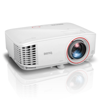 "купить DLP FullHD Projector 3000Lum,  10000:1 BenQ ""TH671ST"", White Projection System:  DLP, DC3 DMD Chip;  Color Wheel RGBYCW;  Native Resolution 1920x1080 pixels;  Brightness 3000 ANSI Lumens;  Contrast Ratio 10,000:1;  Display Color 1.07 Billion Colors;  Aspect Ratio Native 16:9 (5 aspect ratio selectable);   Throw Ratio 0.69 - 0.83 (100"" @ 1.5m);  Projection Size 60""~120"" / 300"";  Zoom Ratio 1.2x;  Keystone Adjustment Vertical ± 40 degrees;  Projection Offset 102.5% ± 2.5%;   Resolution Support VGA(640 x 480) to WUXGA_RB (1920 x 1200) *RB = Reduced Blanking;  Horizontal Frequency 15 ~ 102KHz;  Vertical Scan Rate 23 ~ 120 Hz;   HDTV Compatibility 480i, 480p, 576i, 567p, 720p, 1080i, 1080p;  Video Compatibility NTSC, PAL, SECAM, PAL60;   Power Consumption Max 355W. Normal 320W. Eco 240W.  Light Source  240W Lamp;  Light Source Life 4000/10000/10000/15000 hours(Normal/Eco/SmartEco/LampSave).   Built in Speaker 5W x 1.   Dimensions(W x H x D) 296 x 120 x 224 mm;  Weight 2.7 kg (5.95 lbs);  Security Security Bar;   Accessories (Standard) Power Cord;  VGA cable (1.8m);  Remote Control (RCV013);   AAA Battery x 2;   Lens Cover x 1;  User Manual CD;  Quick Start Guide;  Warranty Card. в Кишинёве"