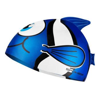 купить Шапочка для плавания Spokey RYBKA, blue, 87470 в Кишинёве