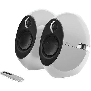 "Edifier E25HD White, 2.0/ 74W (2x37W) RMS, Audio in: Bluetooth 4.0, auxiliary, optical, remote control, satl.(3""+3/4"")"
