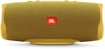 JBL Charge 4 Yellow / Bluetooth Portable Speaker, 30W (2x15W) RMS, BT Type 4.2, Frequency response: 60Hz-20kHz, IPX7, Speakerphone, 7800mAh power bank USB 5V / 2A, JBL Connect+,  JBL Bass Radiator, Power Supply: 5V / 2.3A, Battery life (up to) 20 hr
