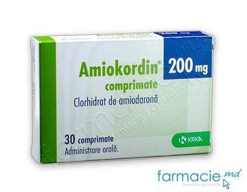 купить Амиокордин®, табл. 200 мг N30 в Кишинёве