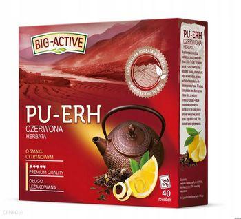купить Чай Big Active Pu-Erh with Lemon, 40 шт в Кишинёве
