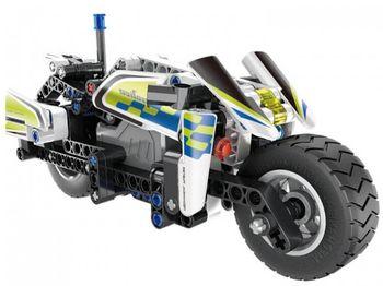 5806, XTech Bricks: Pull Back Police Motorbike, 193 pcs